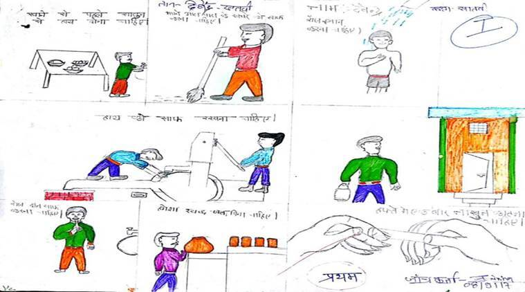 Swachh Bharat, Swachh Bharat painting contest, Swachh Bharat anniversary, Swachh Sankalp Swachh Siddhi painting competition, cleanliness campaign, east kameng, Chhattisgarh's Kanker