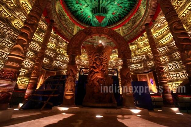 durga puja, durga puja 2017, kolkata durga puja, durga puja themes, durga puja unique theme, 2017 durga puja photos, bengal durga puja photos, durga pujo images, durga puja celebrations,