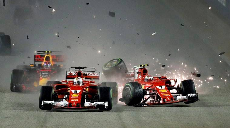 Sebastian Vettel, Singapore GP, Malaysian Grand Prix, Motor Sports, Sports news, Indian Express