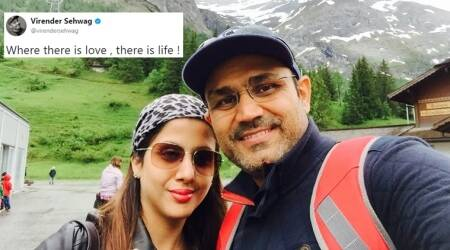 Virender Sehwag's Twitter post about his wife is absolute #relationshipgoals