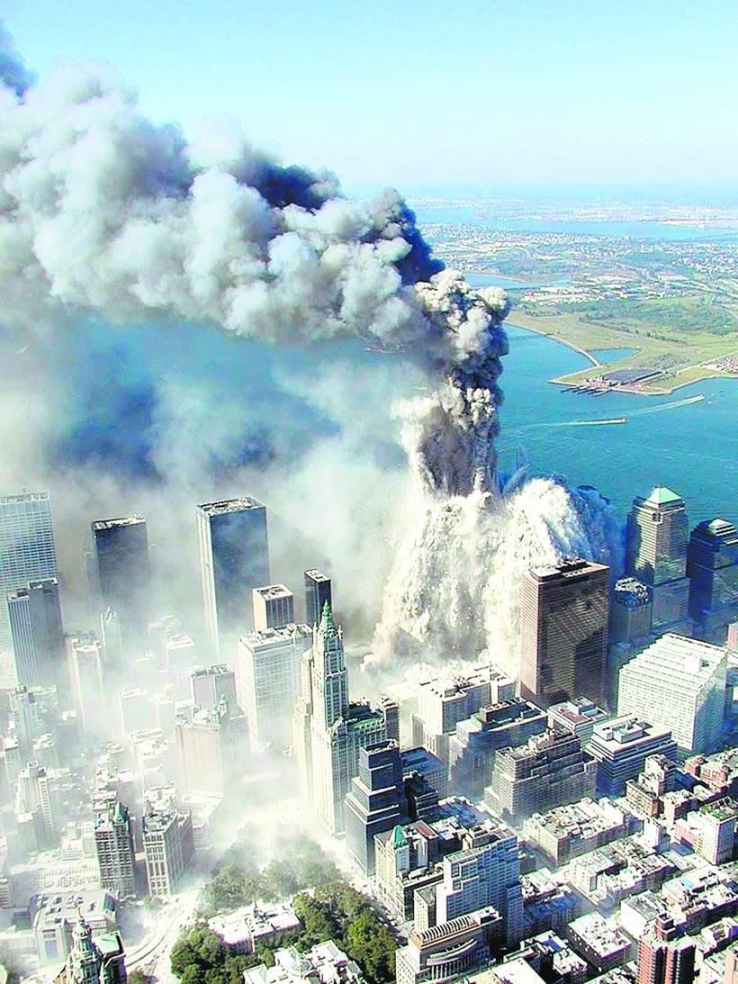 photos: rare photos of 9/11 attack: the day that shook the world