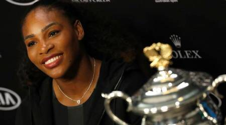 Serena Williams coach happy to let her handle pressure points