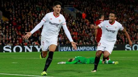 UEFA Champions League: Sevilla fight back to draw 2-2 at Liverpool