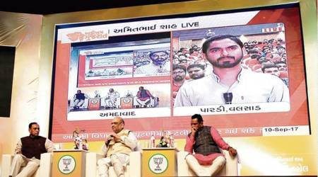 At Amit Shah's Yuva Townhall, only select professionals allowed asaudience