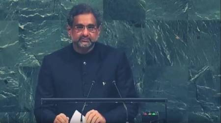 In maiden address to UN, Pakistan PM accuses India of terrorism, seeks intervention in Kashmir