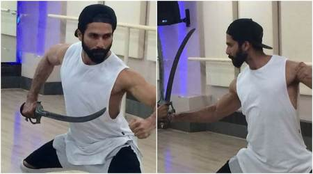 Photos: Padmavati actor Shahid Kapoor is training like a fearless knight and we can't take out eyes off him
