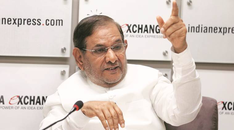 sharad yadav, nitish kumar, bjp, 2019 lok sabha elections, 2019 elections, JDU, sharad yadav on bjp, narendra modi, Atal Bihari Vajpayee, L K Advani, india news, indian express news