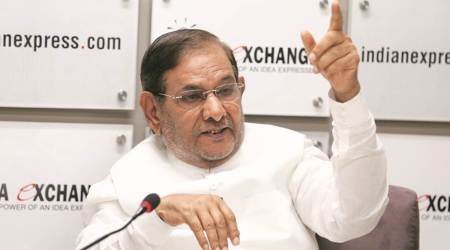 Disqualified from RS for uniting parties against BJP: Sharad Yadav