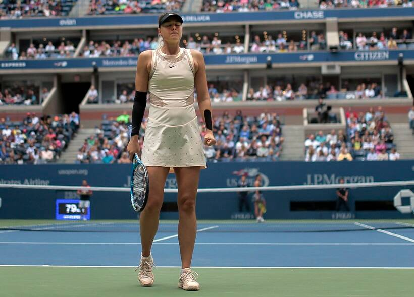 Maria Sharapova's Slam return ends