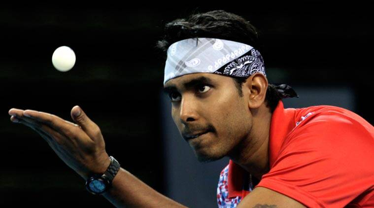 Anthony Amalraj, Sharath Kamal, All India National Ranking Table Tennis Championships, sports news, table tennis, Indian Express