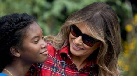 First lady set to embark on first solo trip outsideUS