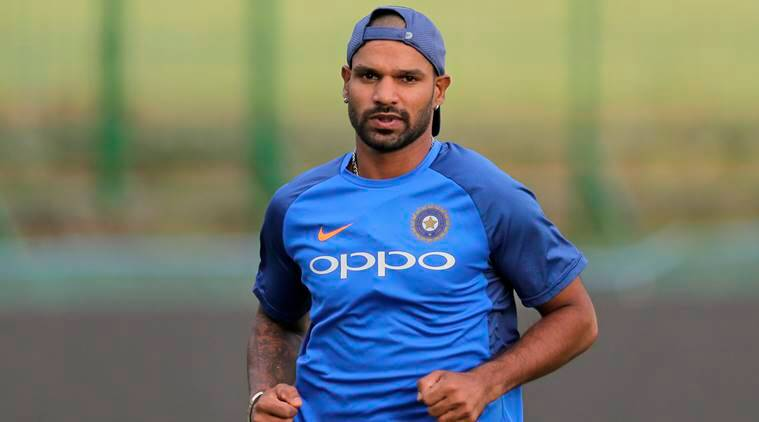 Dhawan to miss first three ODIs