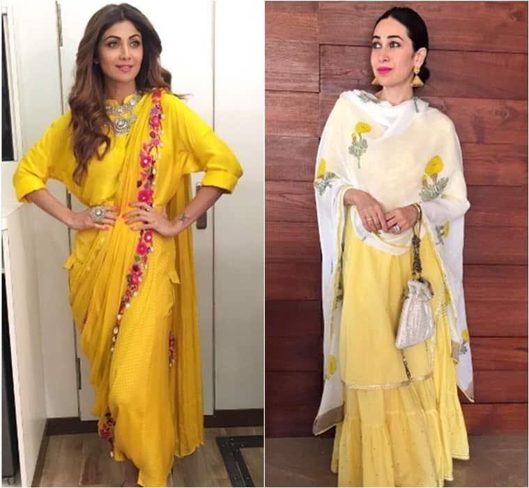 Shilpa Shetty, Karisma Kapoor