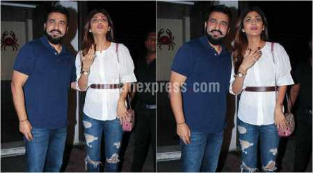 Shilpa Shetty, Raj Kundra dinner outing takes an ugly turn, bouncers rain blows on photographers