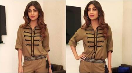 Shilpa Shetty in military separates is proof that she can ace any look