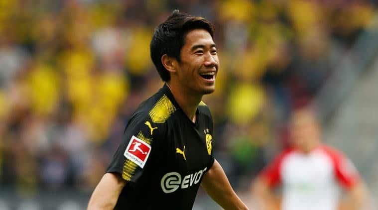 Shinji Kagawa becomes highest Japanese scorer inBundesliga