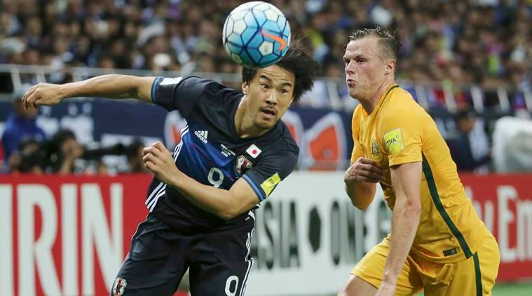 World Cup qualifier, Saudi Arabia vs Japan, 2018 World Cup, Football news, Football, Indian Express