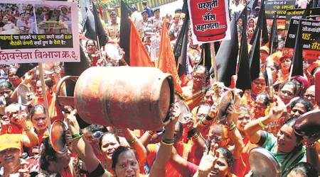 Shiv Sena holds 12 rallies across Mumbai to protest price rise