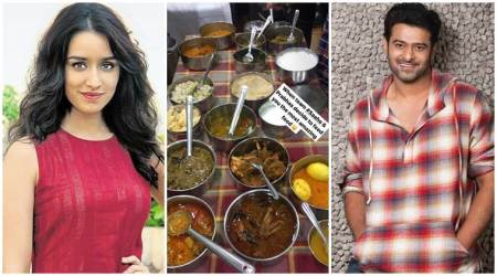 Prabhas treats Saaho co-star Shraddha Kapoor to some Hyderabadi cuisine