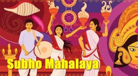 Mahalaya Keywords: Mahalaya 2017 Mahalaya Amavasya Subho Mahalaya Greetings Mahalaya Greetings Bengali Subho Mahalaya GIF, Subho Mahalaya, Subho Mahalaya celebration, Durga Puja, Subho Mahalaya greetings, WhatsApp messages, Indian express, Indian express news