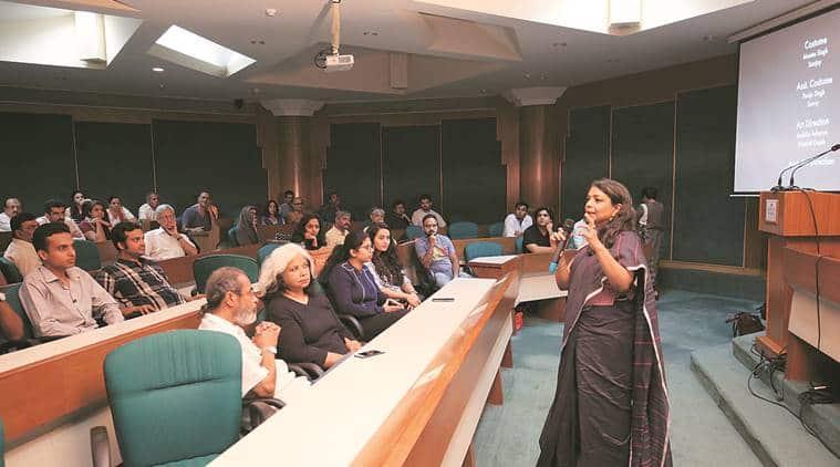 director Rahul Dahiya's G Kutta Se, Indian Express Film Club, Habitat Film Club, Indian Express film critic Shubhra Gupta, India news, National news,
