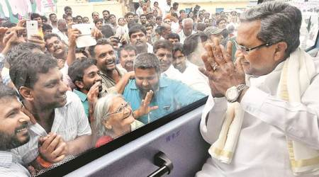 Looking at Siddaramaiah