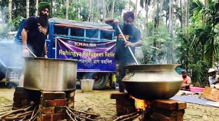 Rohingya Muslims crisis: 'Guru ka langar' begins at Ba   ngladesh-Myanmar border, target 35,000 meals per day
