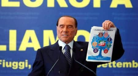Silvio Berlusconi, Italy, elections in Italy, Forza Italia, World news, indian express