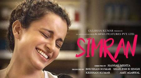 Simran movie review, Simran review, Kangana Ranaut, Simran movie, Simran, Kangana simran, Kangana film, Kangana movie, review Simran, movie review Simran