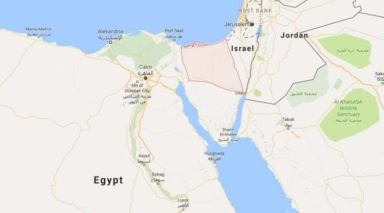 ISIS militants attacked an Egyptian police convoy: 18 dead