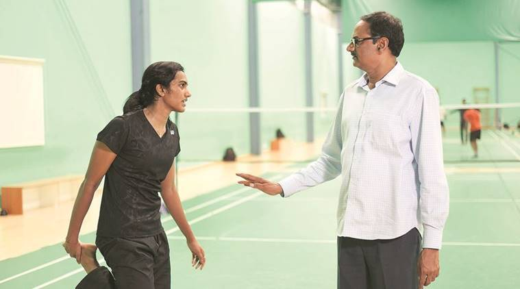 Image result for pv sindhu father