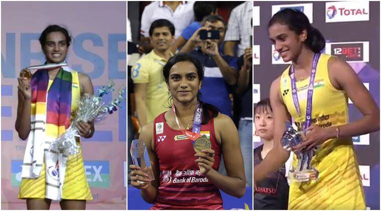 PV Sindhu, Sindhu, Sindhu Korea Super Series, Korea Super Series, Sindhu photos, Korea Open photos, Badminton photos, Badminton, Indian Express