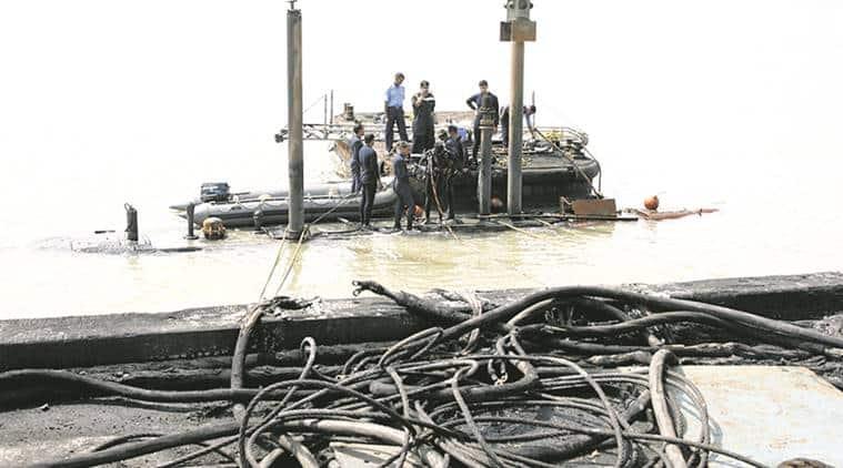 Indian Navy, INS Sindhurakshak, Decommissioned, Navy Ship sunk, Navy vessel, India News, Indian Express