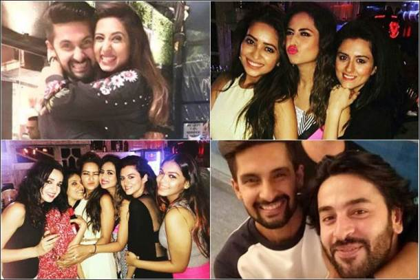 sargun mehta birthday, sargun ravi birthday party, sargun ravi, sargun mehta birthday photos
