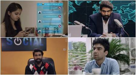 Watch Social trailer: Rana Daggubati's web series features him as a badass CEO