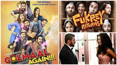 Golmaal Again, Judwaa 2, Tiger Zinda Hai, Fukrey Returns, bollywood sequels, upcoming sequels, Bollywood films,