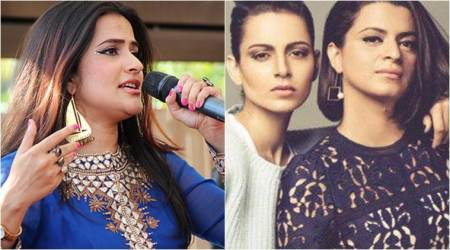 Kangana Ranaut sister Rangoli hits back at Sona Mohapatra: You are a black spot on womanhood