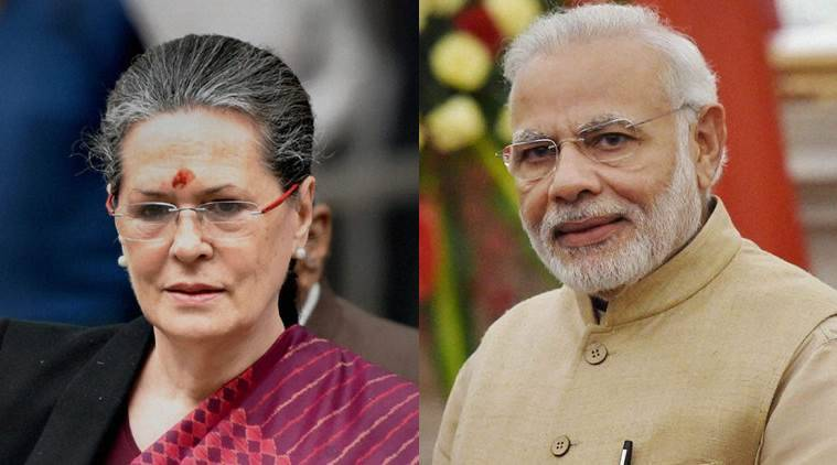 Image result for Sonia Gandhi turns 71: PM Modi wishes Congress president on her birthday