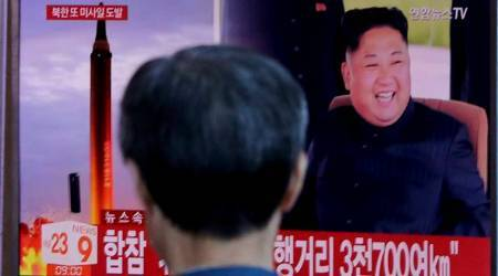 North Korea fires intermediate-range missile over Japan, lands in Pacific Ocean