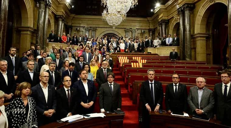 Spain seeks legal action against Catalan independencebid
