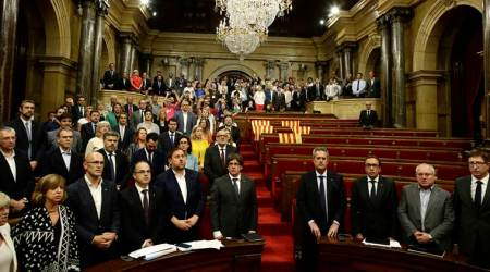 Spain seeks legal action against Catalan independence bid