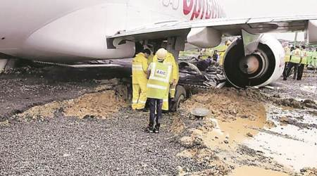 After nearly 24 hours, SpiceJet aircraft that overshot runway towed away