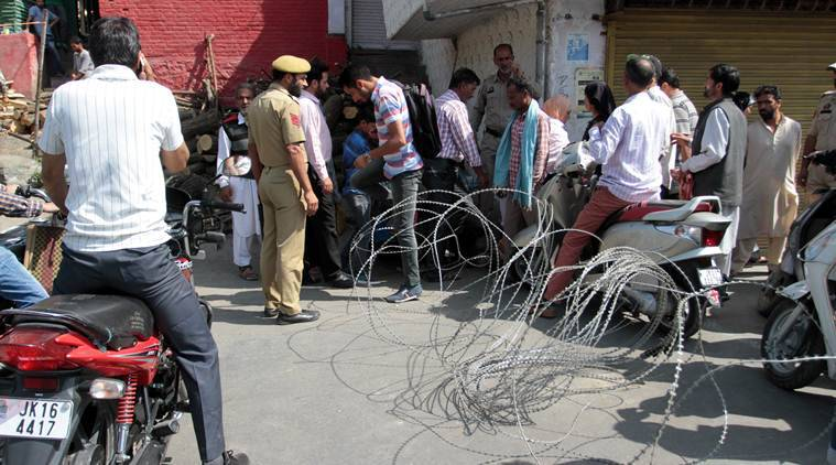 Indian troops hinder Muharram processions in Occupied Kashmir