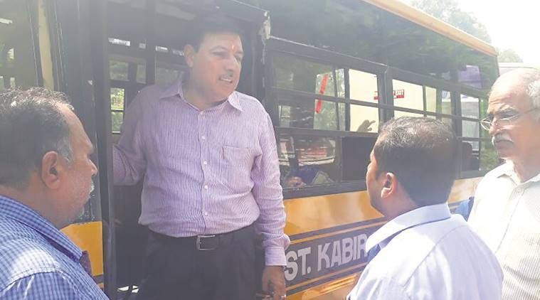 Chandiagrh school buses, State Transport Authority, School bus rules Chandigarh, chandigarh news, indian express news