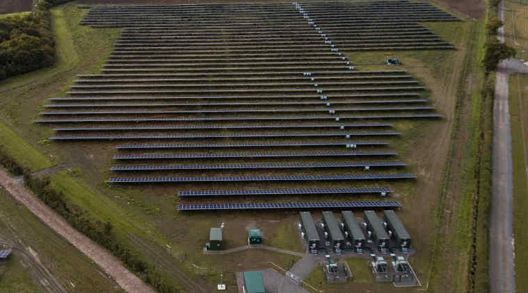 First subsidy-free solar farm opens after 'greenest summer'