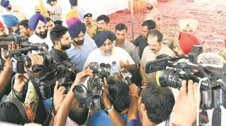 Chhapar Mela: Badal senior skips, Sukhbir goes soft on Capt in his address