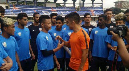 I would give 15 years of my career to play in the World Cup: Sunil Chhetri tells India U-17 team