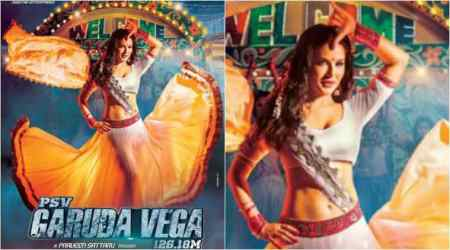 PSV Garuda Vega: Sunny Leone promises to add masala to this Rajasekar starrer