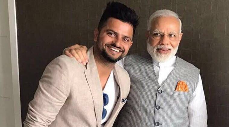 Narendra Modi, Suresh Raina, Modi, Prime Minister Narendra Modi, Cricket news, Cricket, Indian Express
