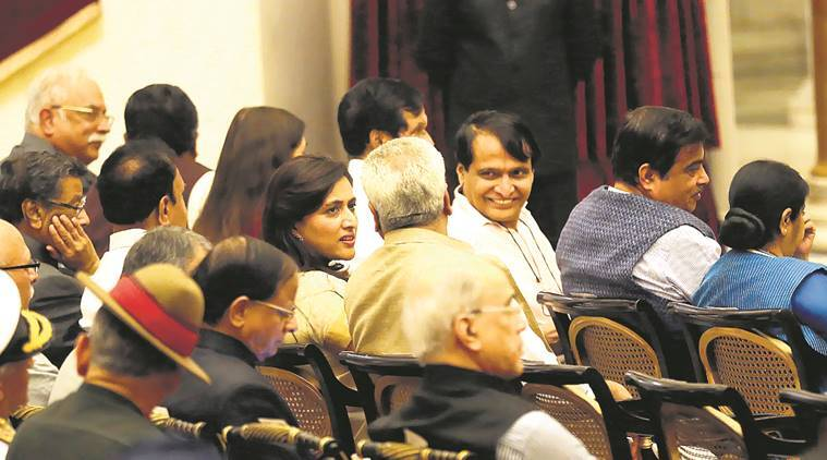 Cabinet reshuffle, Nirmala Sitaraman, Suresh Prabhu, Trade and Commerce Industry, Modi Cabinet, India news, Indian Express